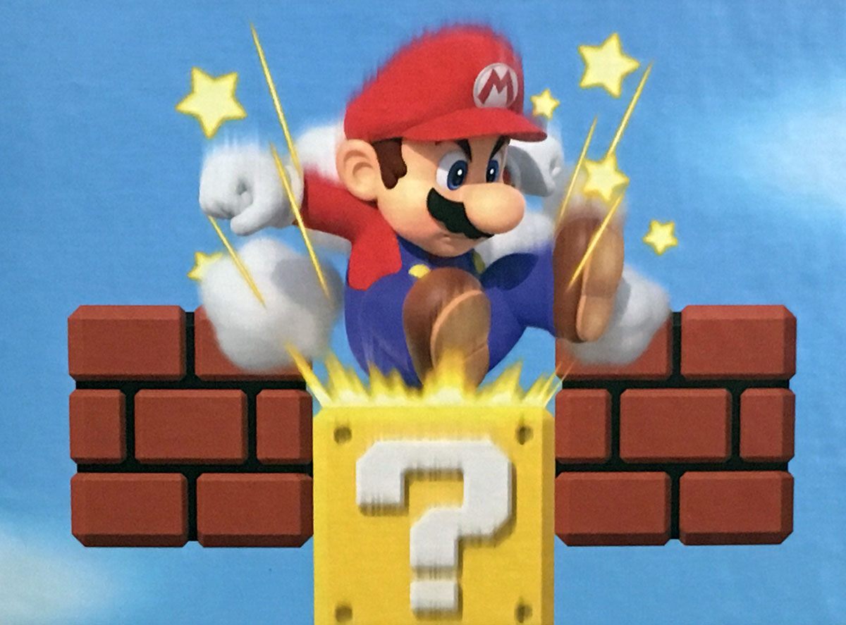 Super Mario Stars Video Game Jigsaw Puzzle