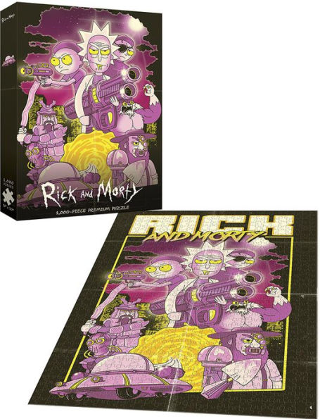 Rick and Morty™ Big Trouble Little Sanchez Movies / Books / TV Jigsaw Puzzle