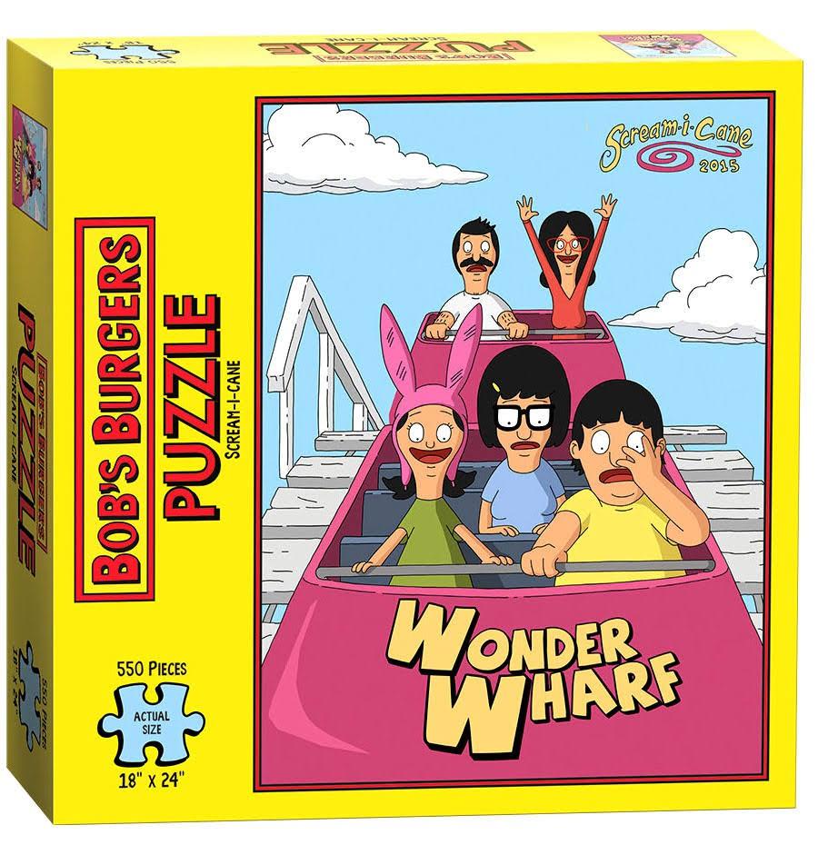 Bob's Burgers Scream-I-Cane Cartoons Jigsaw Puzzle