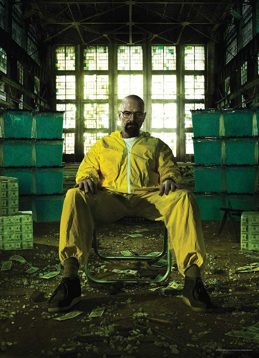 Breaking Bad Movies / Books / TV Jigsaw Puzzle