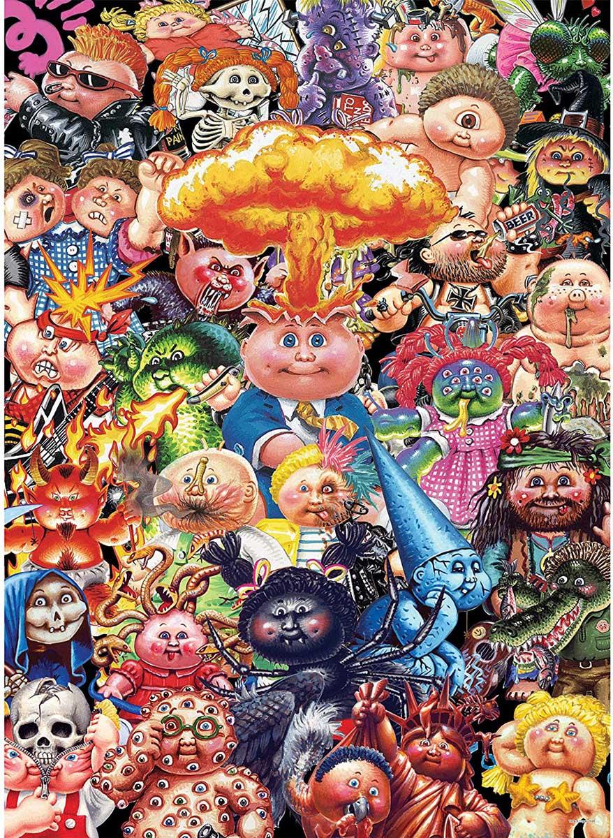 "Garbage Pail Kids ""Yuck"" Nostalgic / Retro Jigsaw Puzzle"