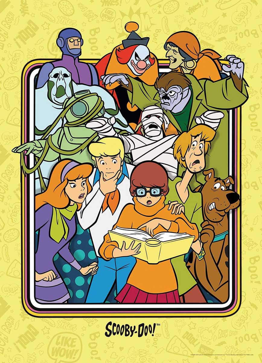 Scooby Doo! Those Meddling Kids! Cartoons Jigsaw Puzzle