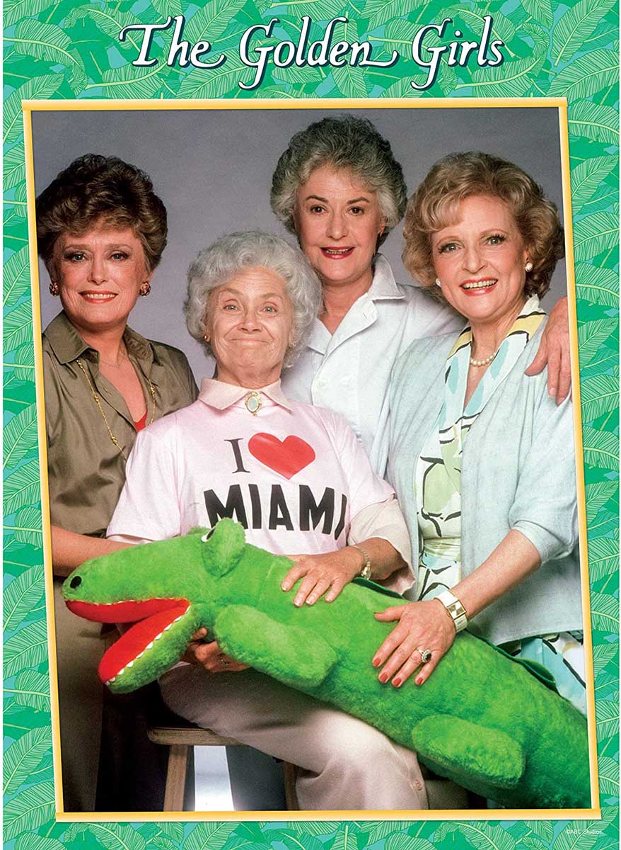 """The Golden Girls """"I Heart Miami"""" Movies / Books / TV Jigsaw Puzzle"""