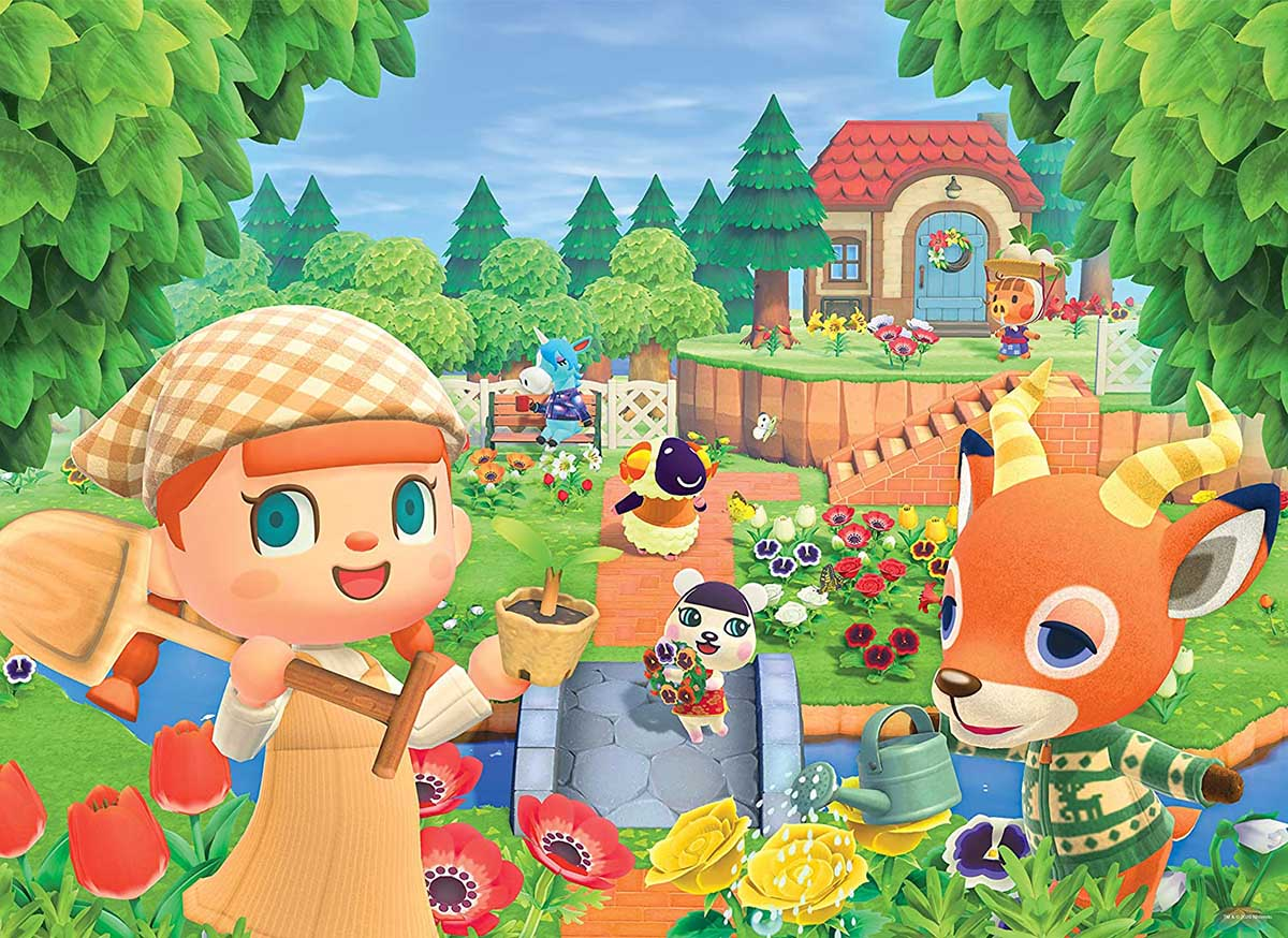 "Animal Crossing ""New Horizons"" Outdoors Jigsaw Puzzle"