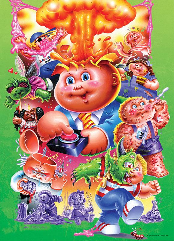 "Garbage Pail Kids ""Palooza"" Nostalgic / Retro Jigsaw Puzzle"