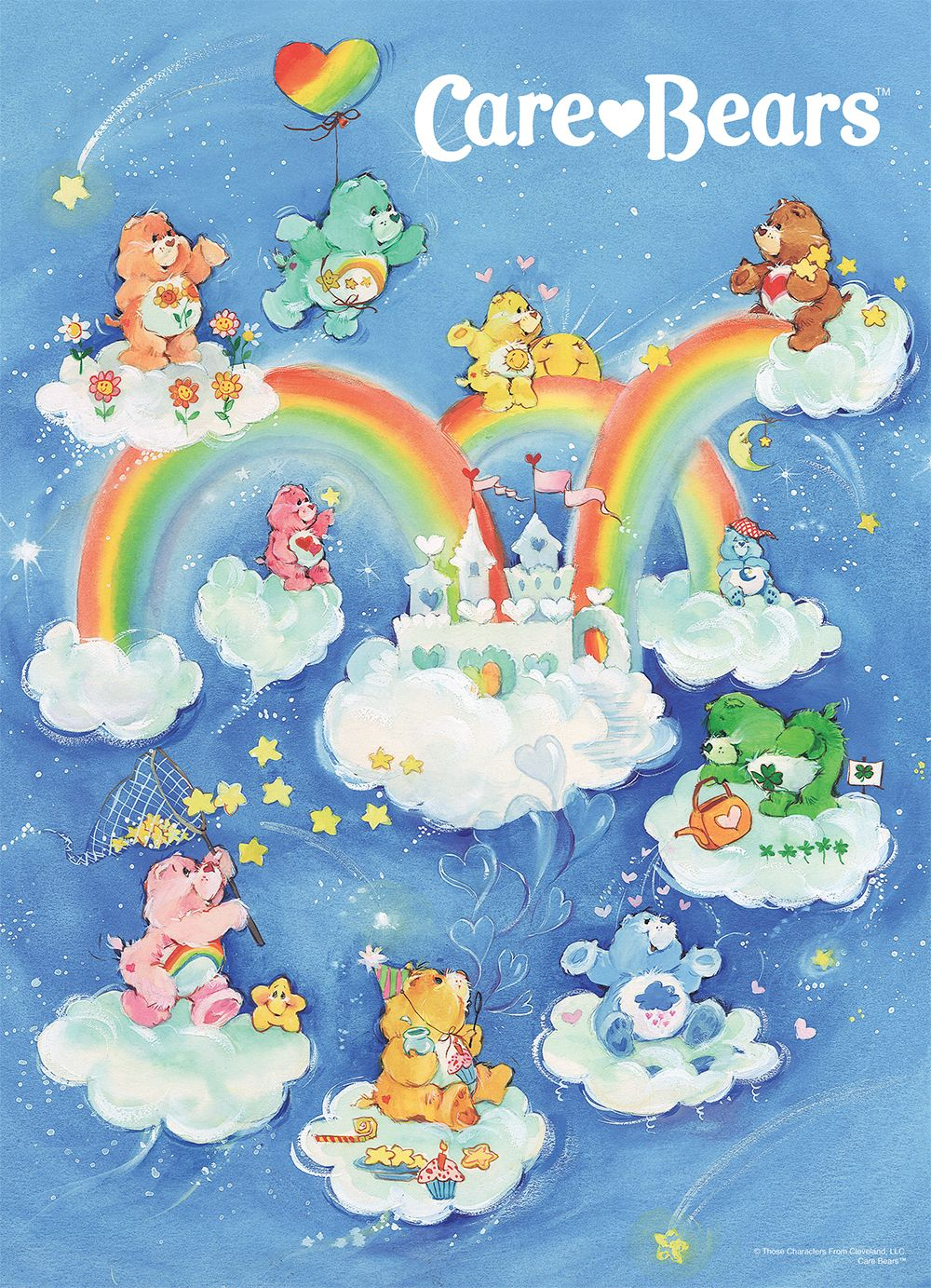 """Care Bears """"Care-A-Lot"""" Jigsaw Puzzle"""