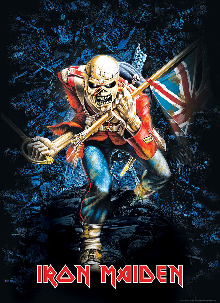 """Iron Maiden """"The Trooper"""" Video Game Jigsaw Puzzle"""