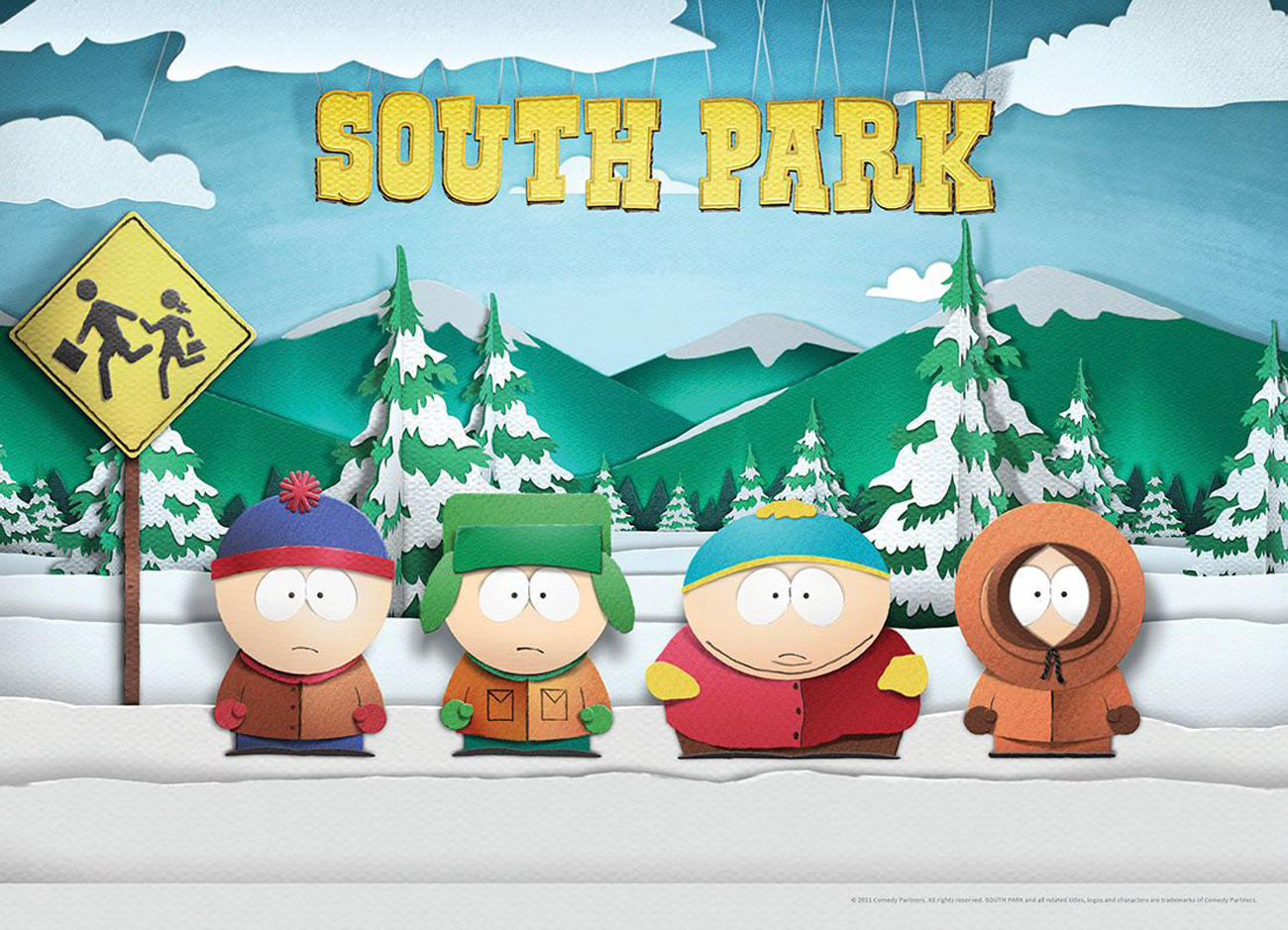 South Park Movies / Books / TV Jigsaw Puzzle