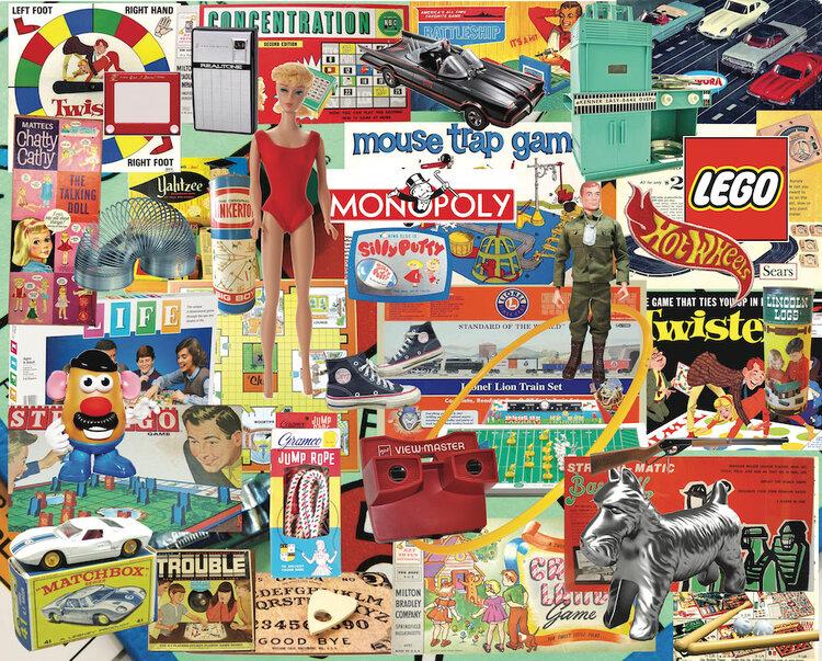 Boomers' Favorite Toys Nostalgic / Retro Jigsaw Puzzle