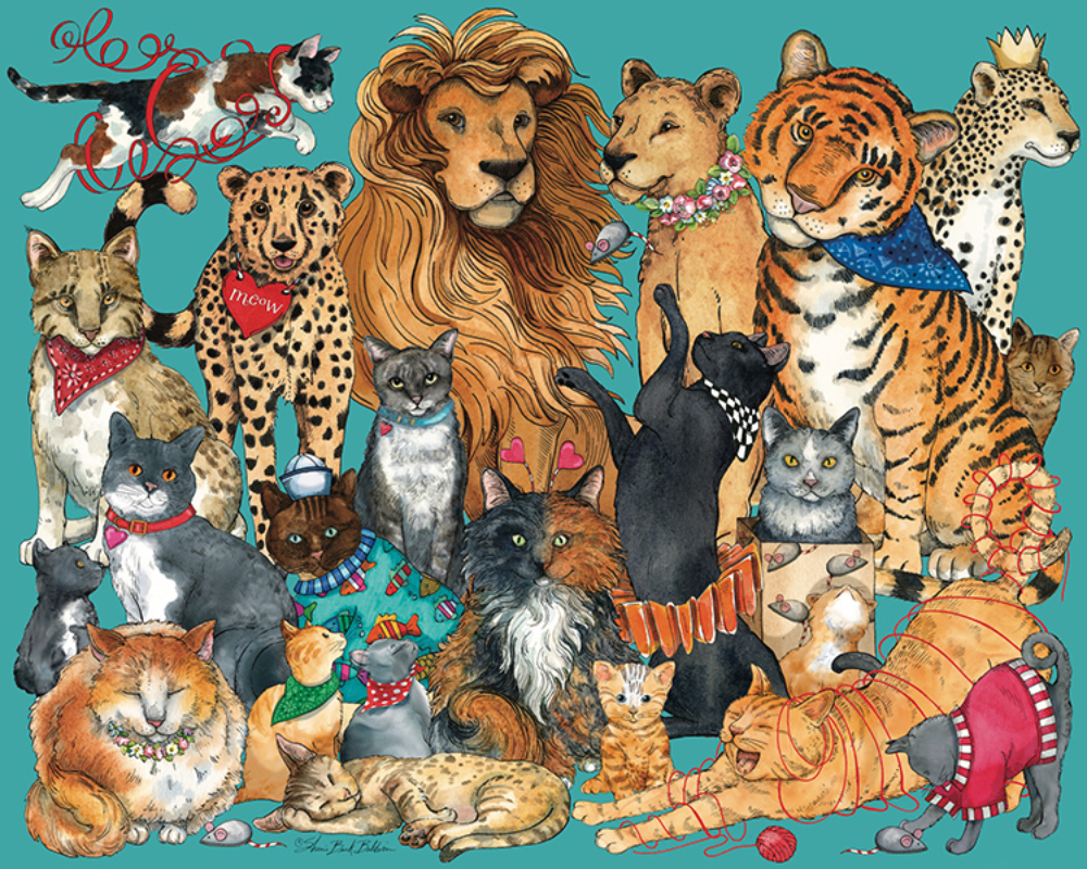 Cats, Cats, Cats Cats Jigsaw Puzzle