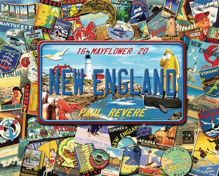 New England United States Jigsaw Puzzle