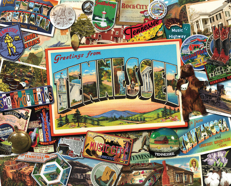 Tennessee United States Jigsaw Puzzle