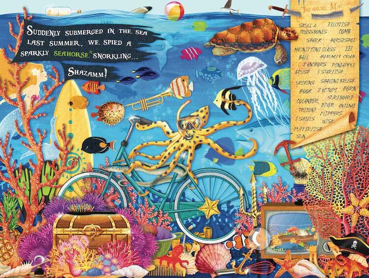 S&F Undersea Under The Sea Hidden Images