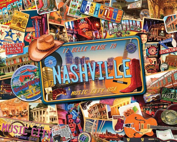 Nashville Music Jigsaw Puzzle