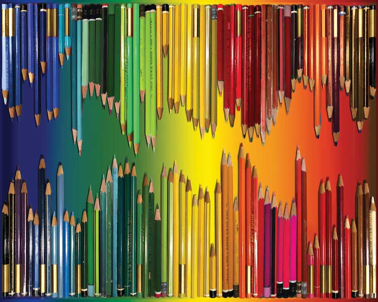 Pencils, Pencils, Pencils Everyday Objects Jigsaw Puzzle