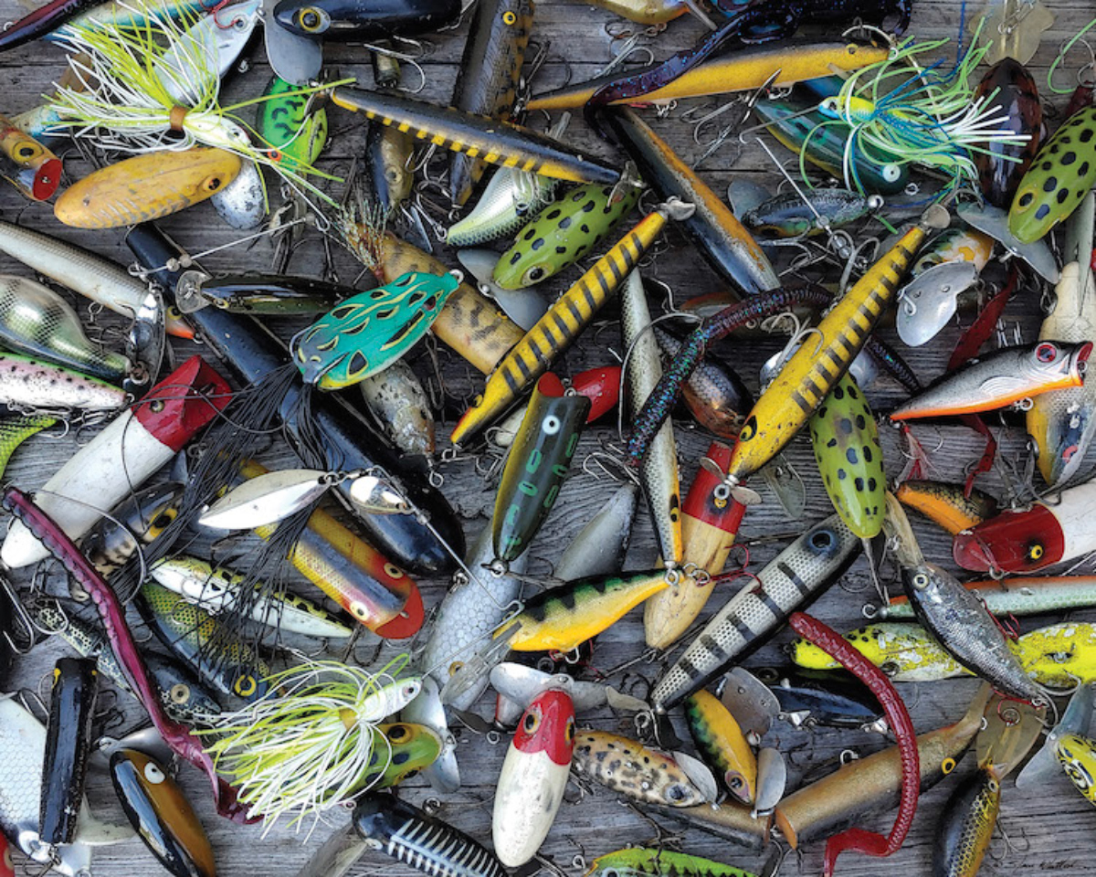 Lures, Lures, Lures Fishing Jigsaw Puzzle