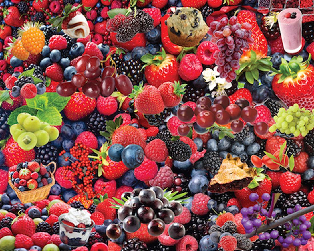 Berries, Berries, Berries Food and Drink Jigsaw Puzzle