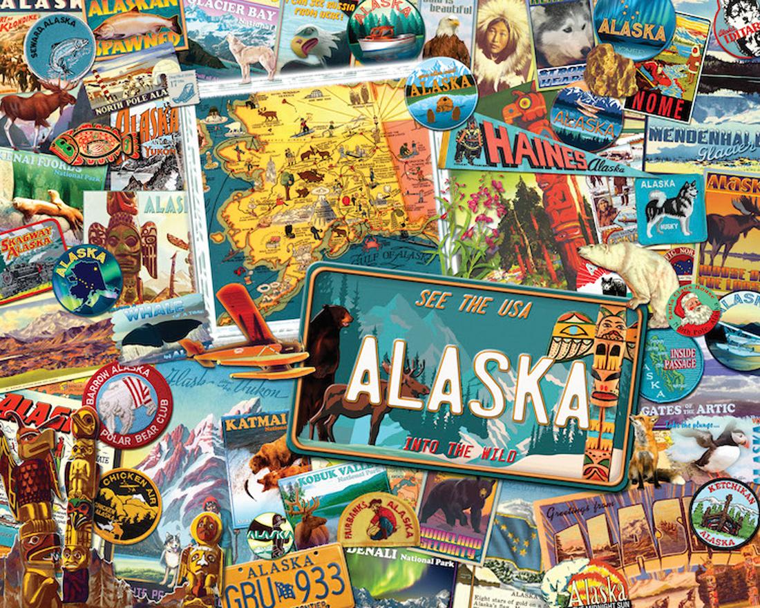 Alaska Maps / Geography Jigsaw Puzzle