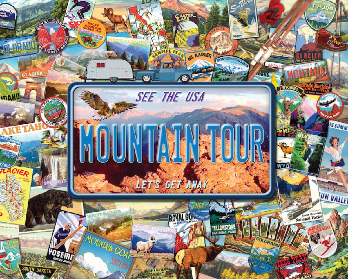 Mountain Tour Travel Jigsaw Puzzle