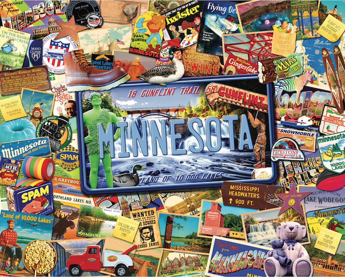 Minnesota United States Jigsaw Puzzle
