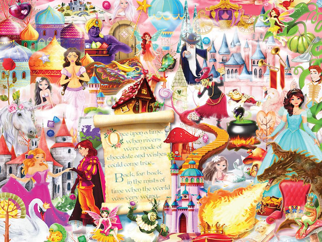 Fairytales Fantasy Jigsaw Puzzle