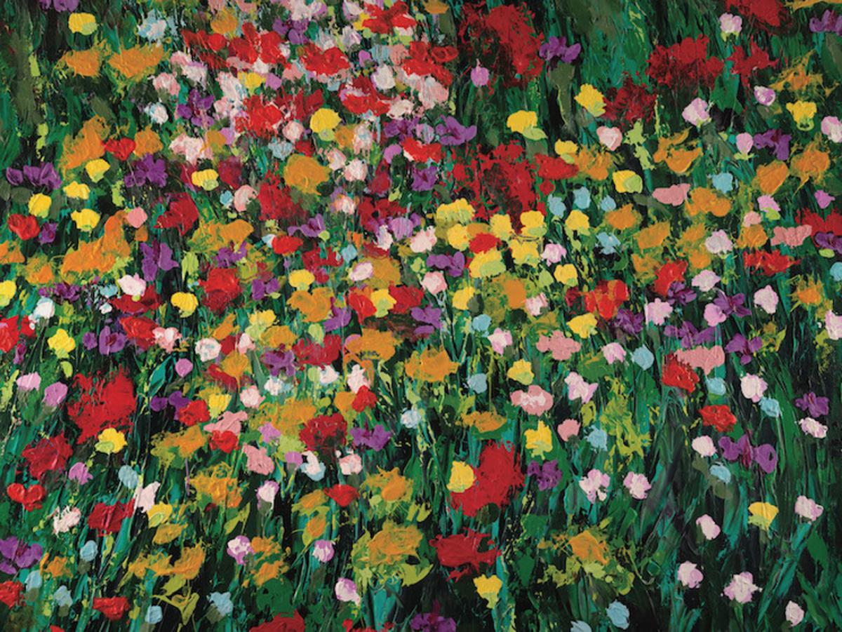 Flower Blast Flowers Jigsaw Puzzle