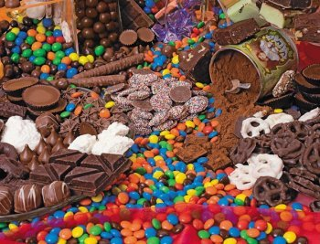 Chocolate Sensation Food and Drink Children's Puzzles