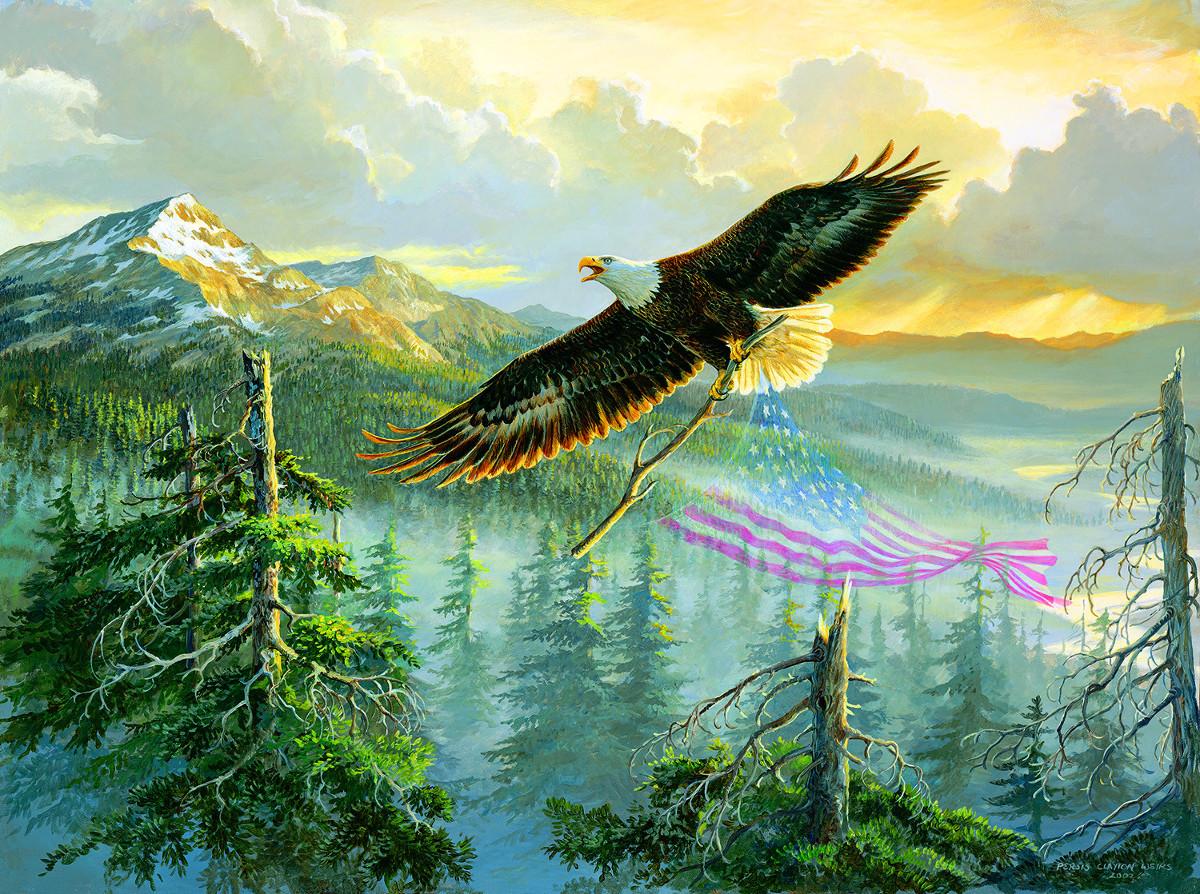 American Splendor Mountains Jigsaw Puzzle