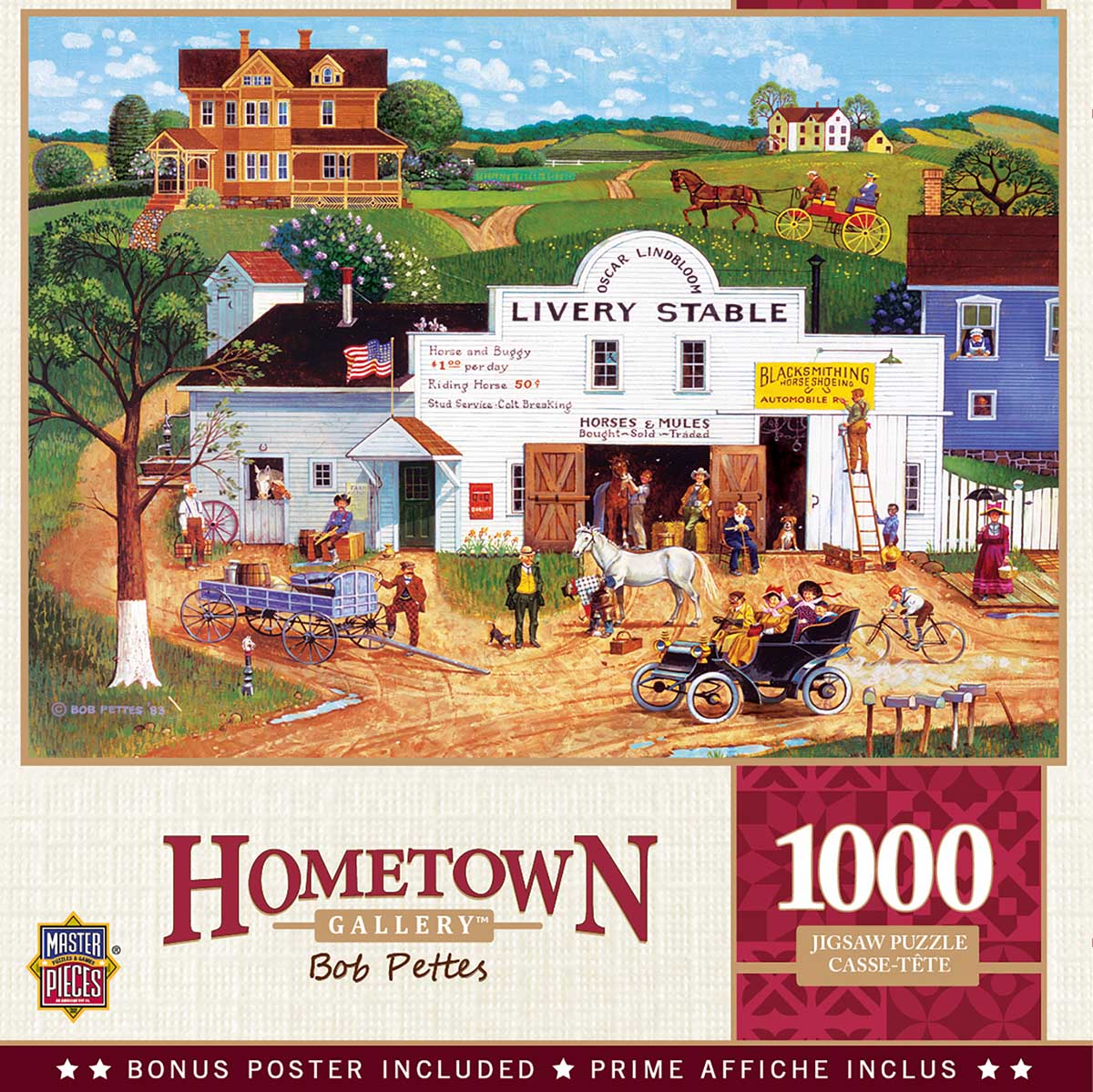 Changing Times - Scratch and Dent Americana & Folk Art Jigsaw Puzzle