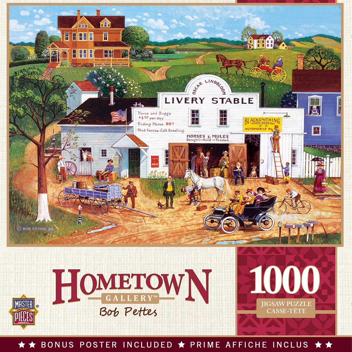 Changing Times Americana & Folk Art Jigsaw Puzzle