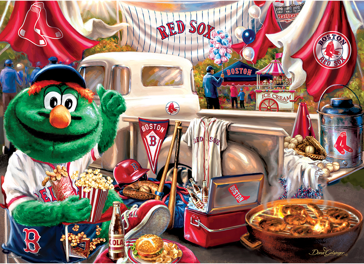 Boston Red Sox Gameday Sports Jigsaw Puzzle