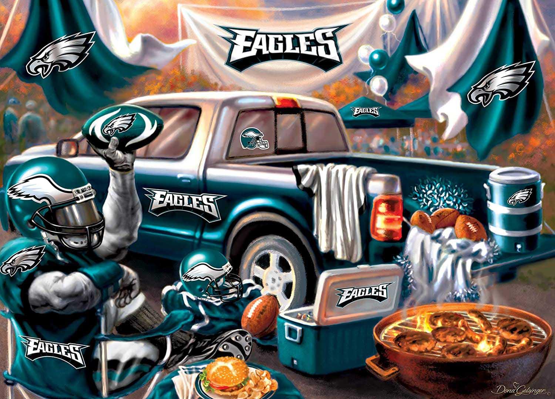 Philadelphia Eagles Gameday Football Jigsaw Puzzle