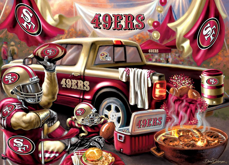 San Francisco 49ers Gameday Football Jigsaw Puzzle