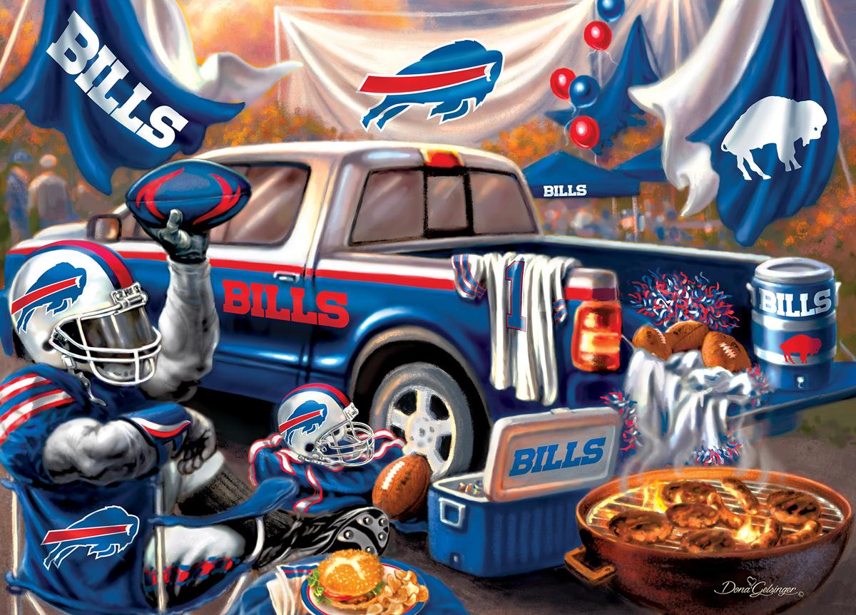 Buffalo Bills Gameday Sports Jigsaw Puzzle