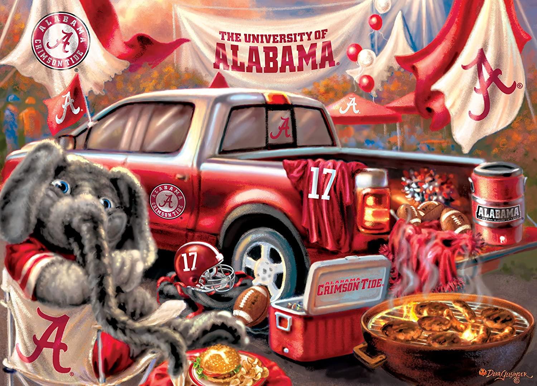 Alabama Gameday Football Jigsaw Puzzle