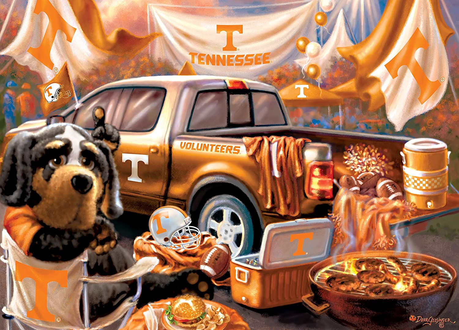 Tennessee Gameday Football Jigsaw Puzzle