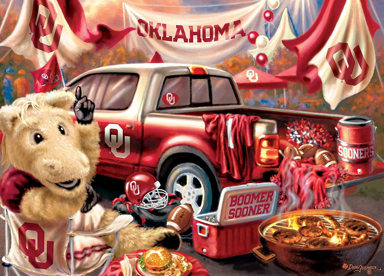 Oklahoma Gameday Football Jigsaw Puzzle