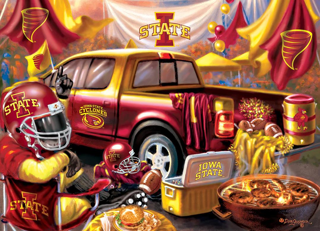Iowa State  Gameday Football Jigsaw Puzzle