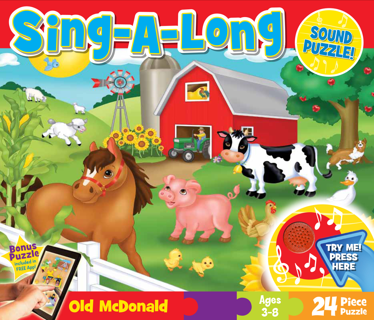Old McDonald Floor Puzzle - Scratch and Dent Farm Jigsaw Puzzle