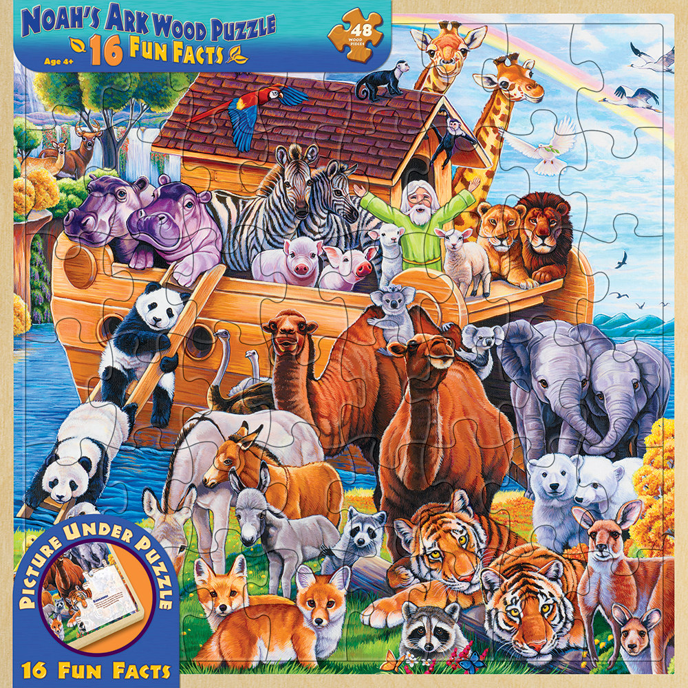 Noah's Ark Animals Jigsaw Puzzle