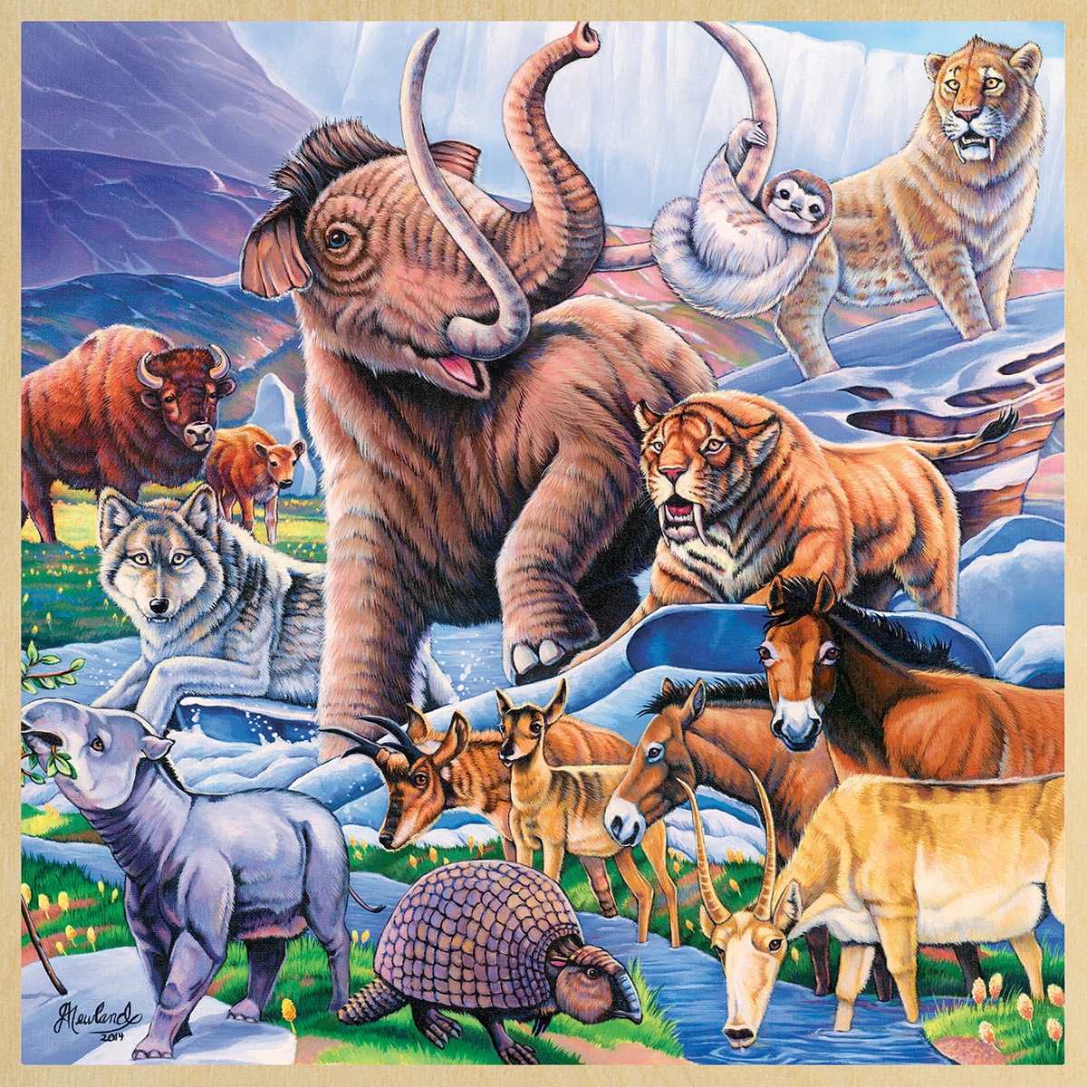 Ice Age Friends Animals Jigsaw Puzzle