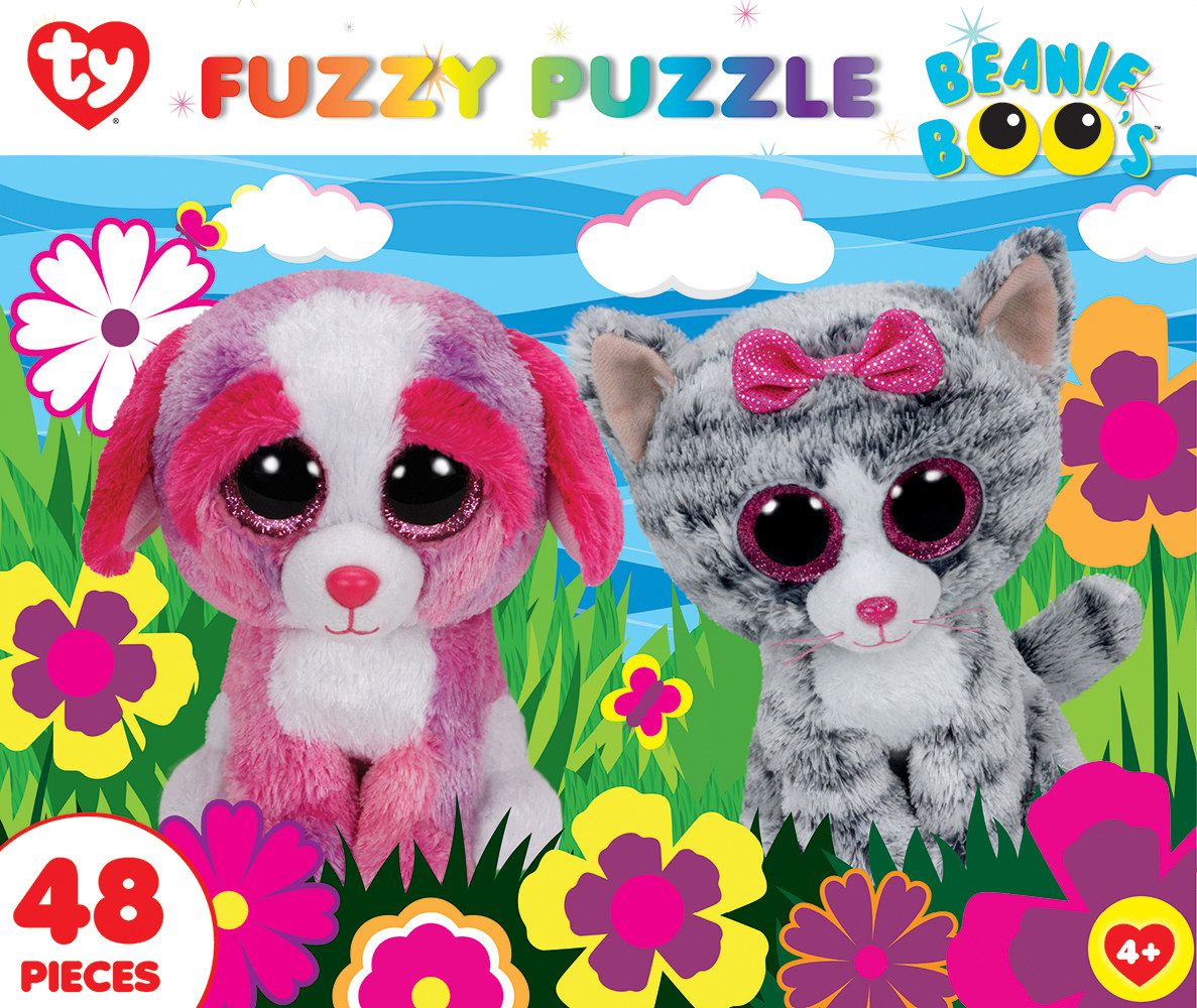 Garden Buddies (Fuzzy Puzzle) Cats Jigsaw Puzzle