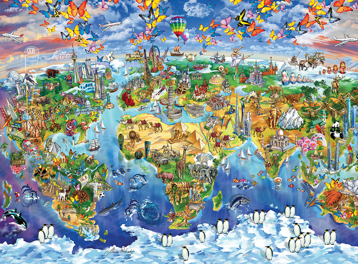 The World Cartoons Children's Puzzles