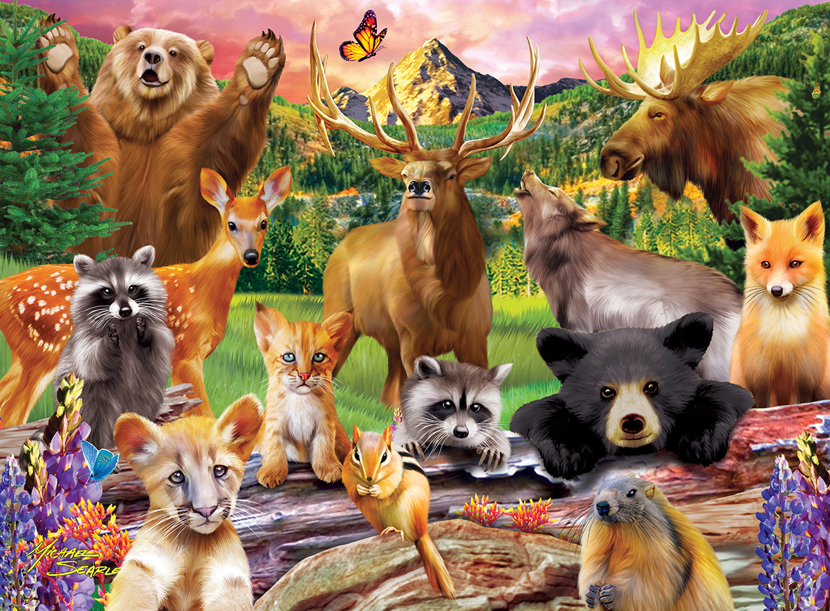 National Parks Animals Jigsaw Puzzle