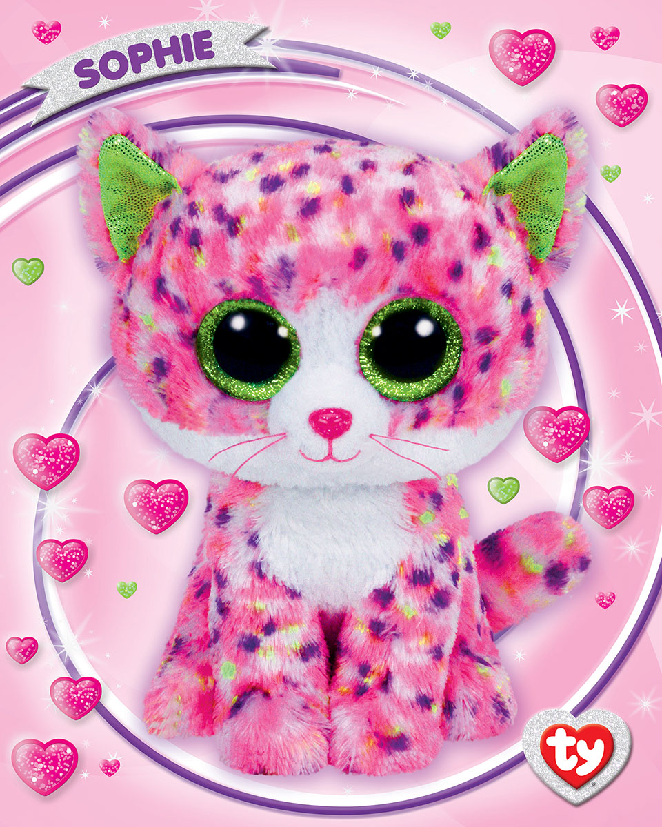Sophie Gift Box (Ty Beanie Boo) Cats Jigsaw Puzzle