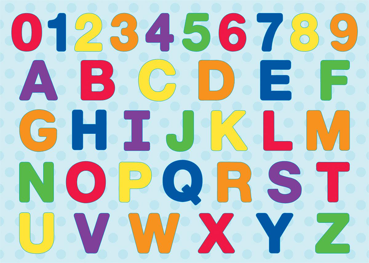 ABC 123 Wood Puzzle Educational Jigsaw Puzzle