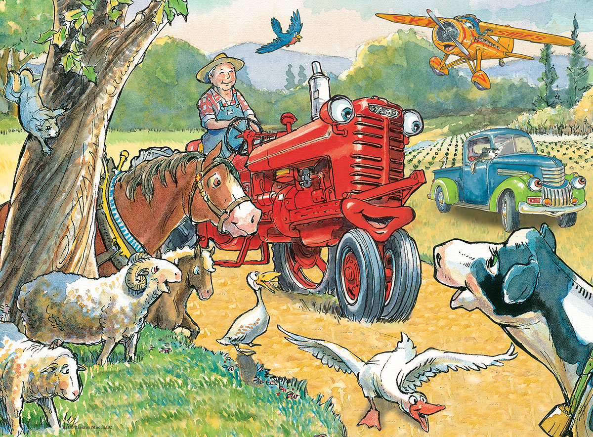 Out for a Ride (Tractor Mac) Farm Jigsaw Puzzle