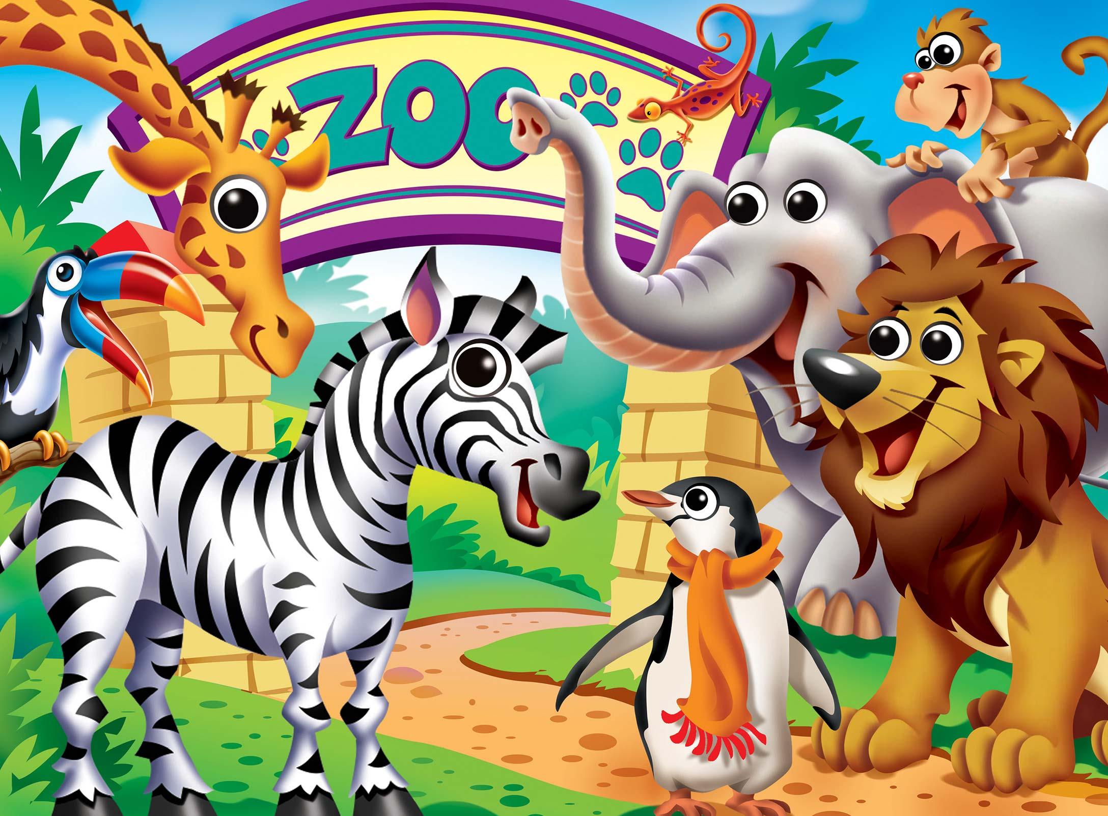Zoo Animals Animals Jigsaw Puzzle