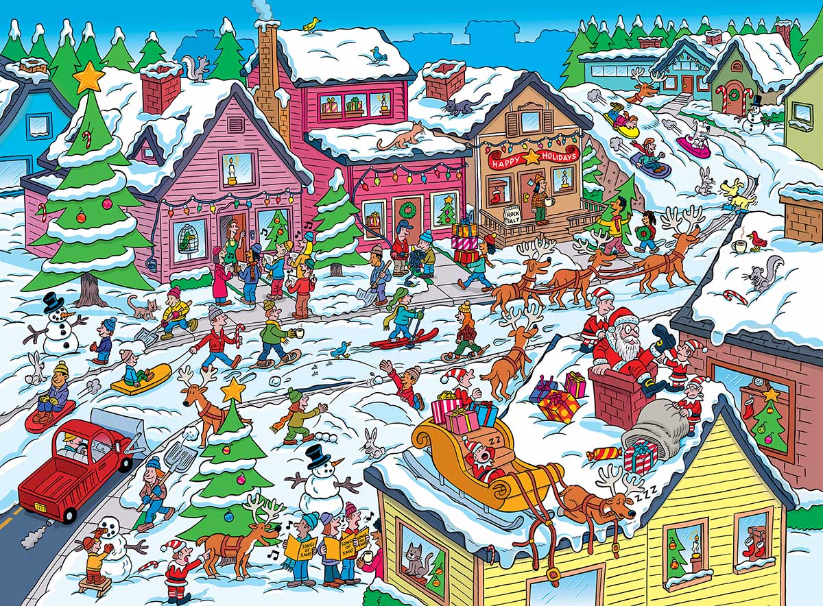 Things to Spot at Christmas Christmas Hidden Images
