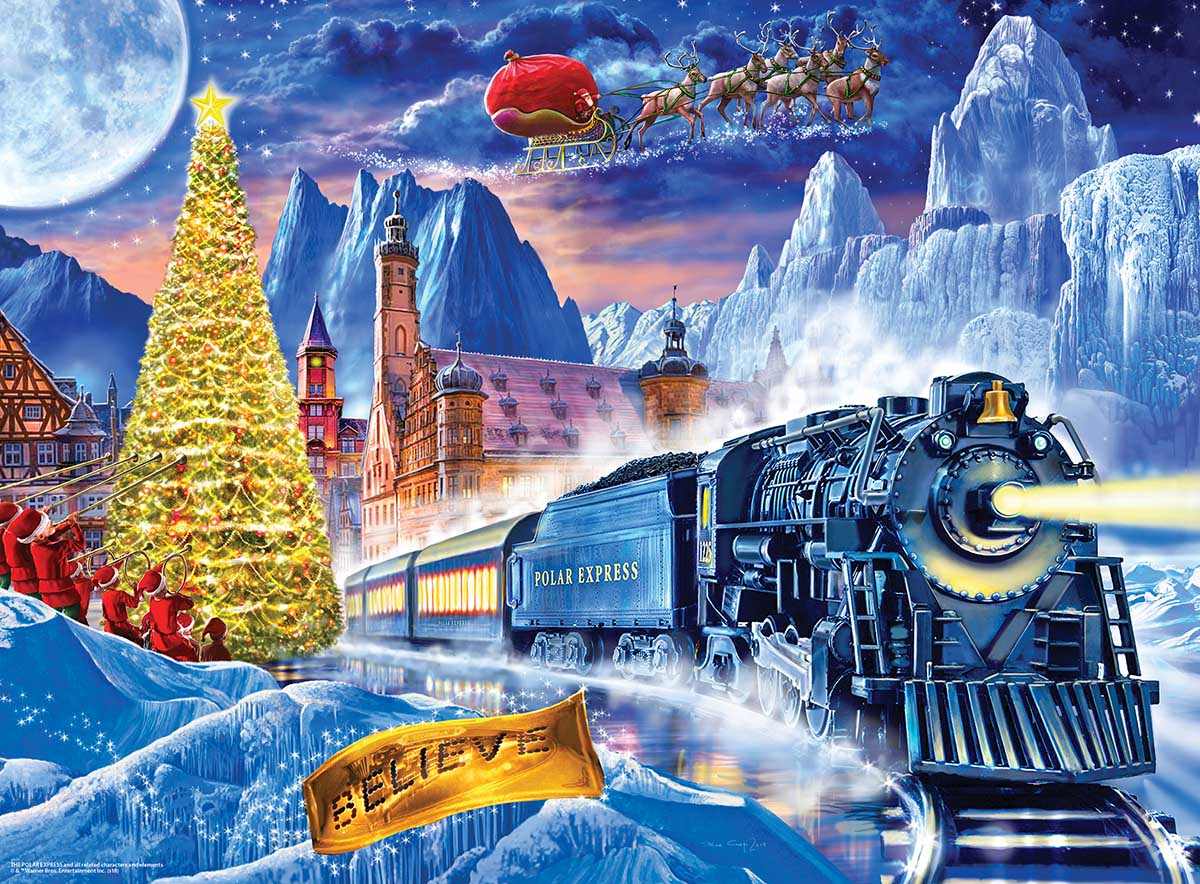 The Polar Express Movies / Books / TV Glow in the Dark Puzzle
